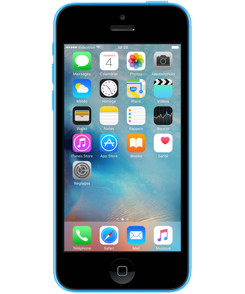 Apple iPhone 5c (iOS 9)