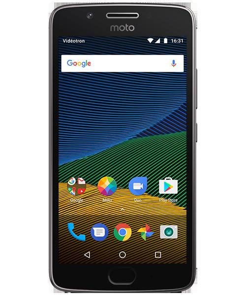 Managing Multiple User Accounts — Moto G5